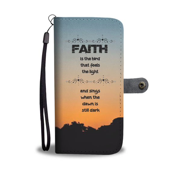 Wallet Phone Case - Faith