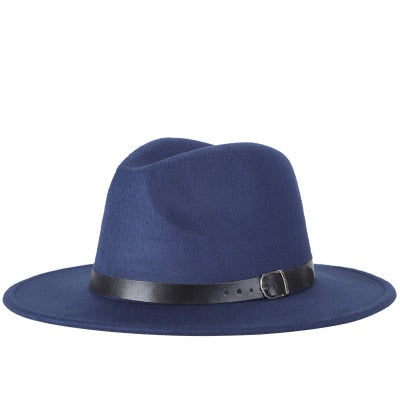 Fashion fedoras for men or women