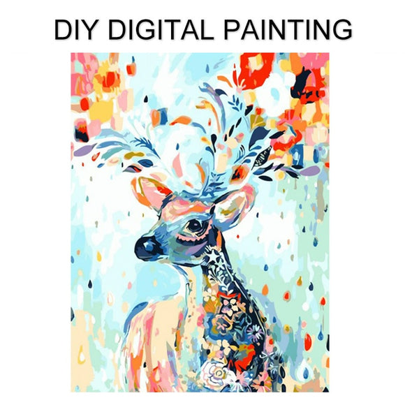 DIY Painting By Numbers Kits