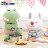 Plush Cuddly Toys - Hippo, Cat, Bunny or Crocodile