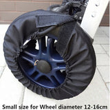 4-piece Baby Stroller Wheel Covers Set -  2 Sizes