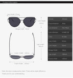 Women's Mirror Flat Lens Sunglasses