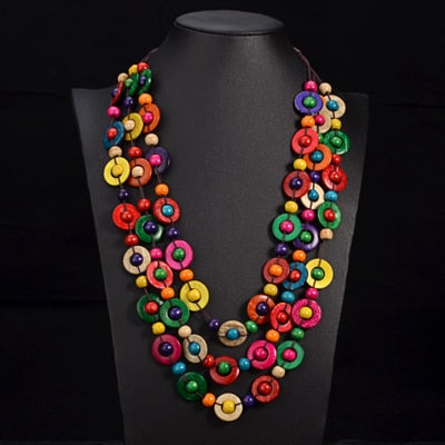 Wooden Bohemia Necklace