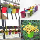 Hanging Flower Pots ideal for Balcony or Wall Hanging