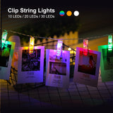 1.5M 2M 3M Photo Clip Holder LED String lights