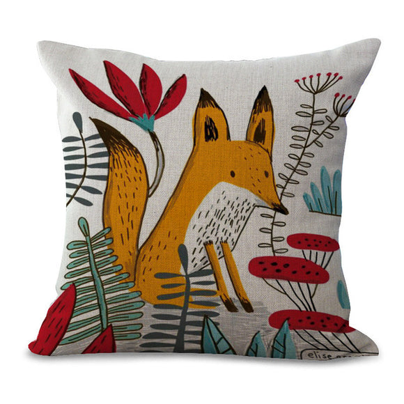 Fox Cushions Covers