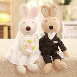 Valentines Gift? Marriage Proposal? Le Sucre pair of 30cm wedding bunnies