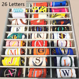 Alphabet  Silky Scarf - choose your letter!