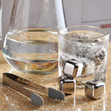Whiskey Stones - Reusable Stainless Steel Chilling Cubes