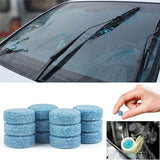 10-piece Car Windshield Glass and  House Cleaning Tablets