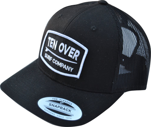 Reto Trucker Cap - Black