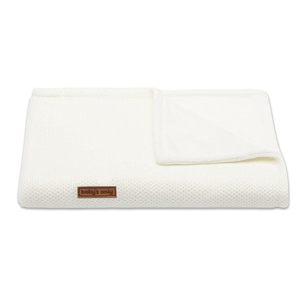 Cot blanket Soft Classic | Woolwhite