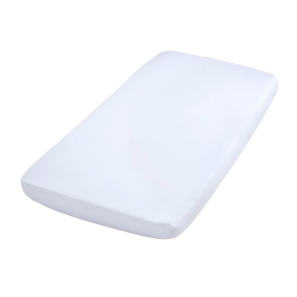 Fitted Sheet | White 60 x 120
