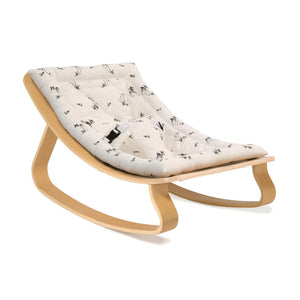 Baby Rocker LEVO |  Beech with Rose in April Fawn (pre-order)