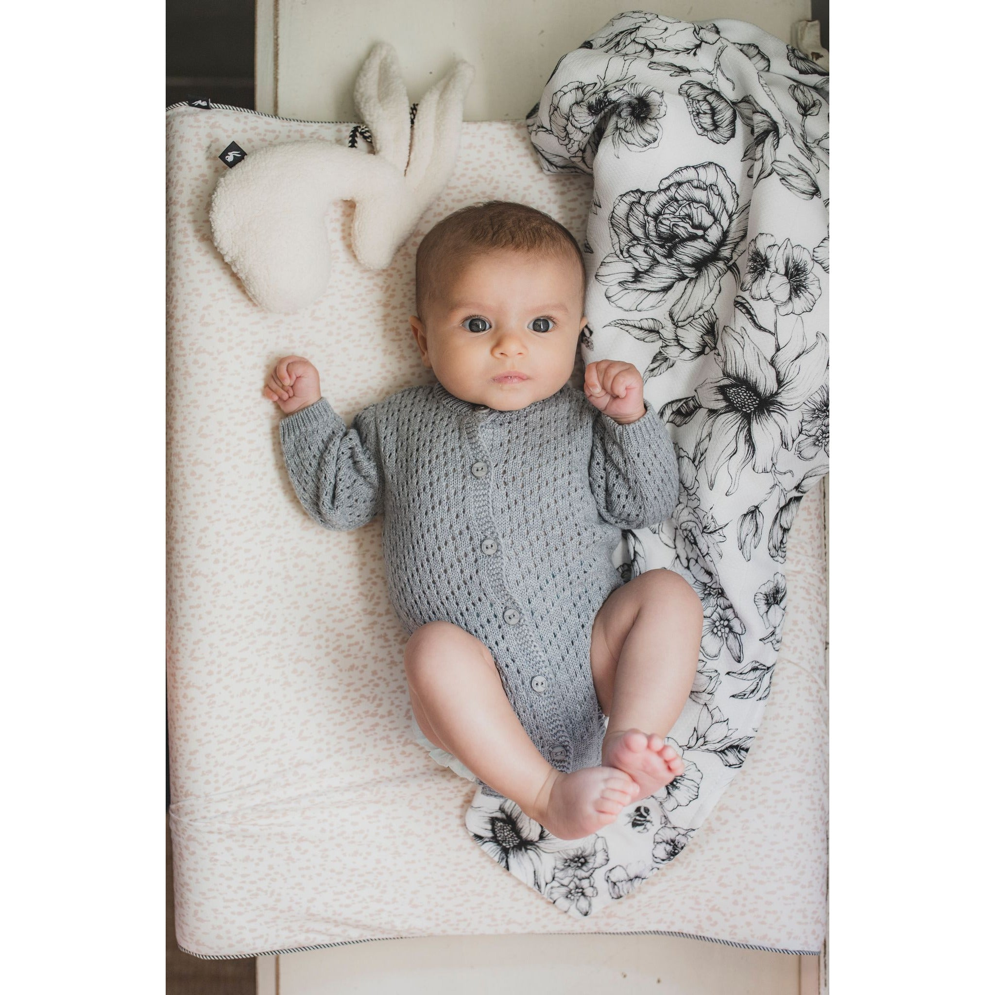 Swaddle XL Offwhite | Bumble Love