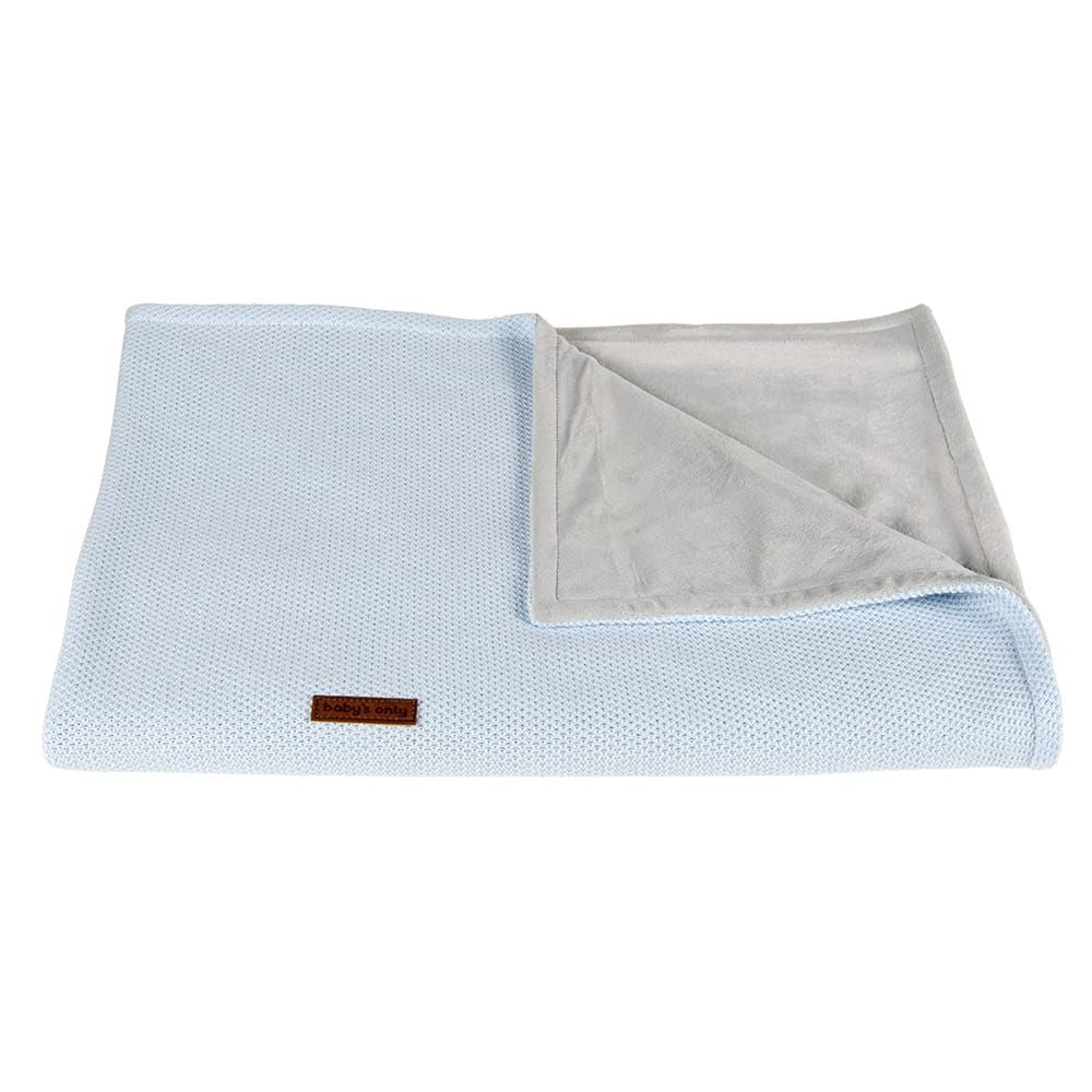 Cot blanket Soft Classic | Powder Blue