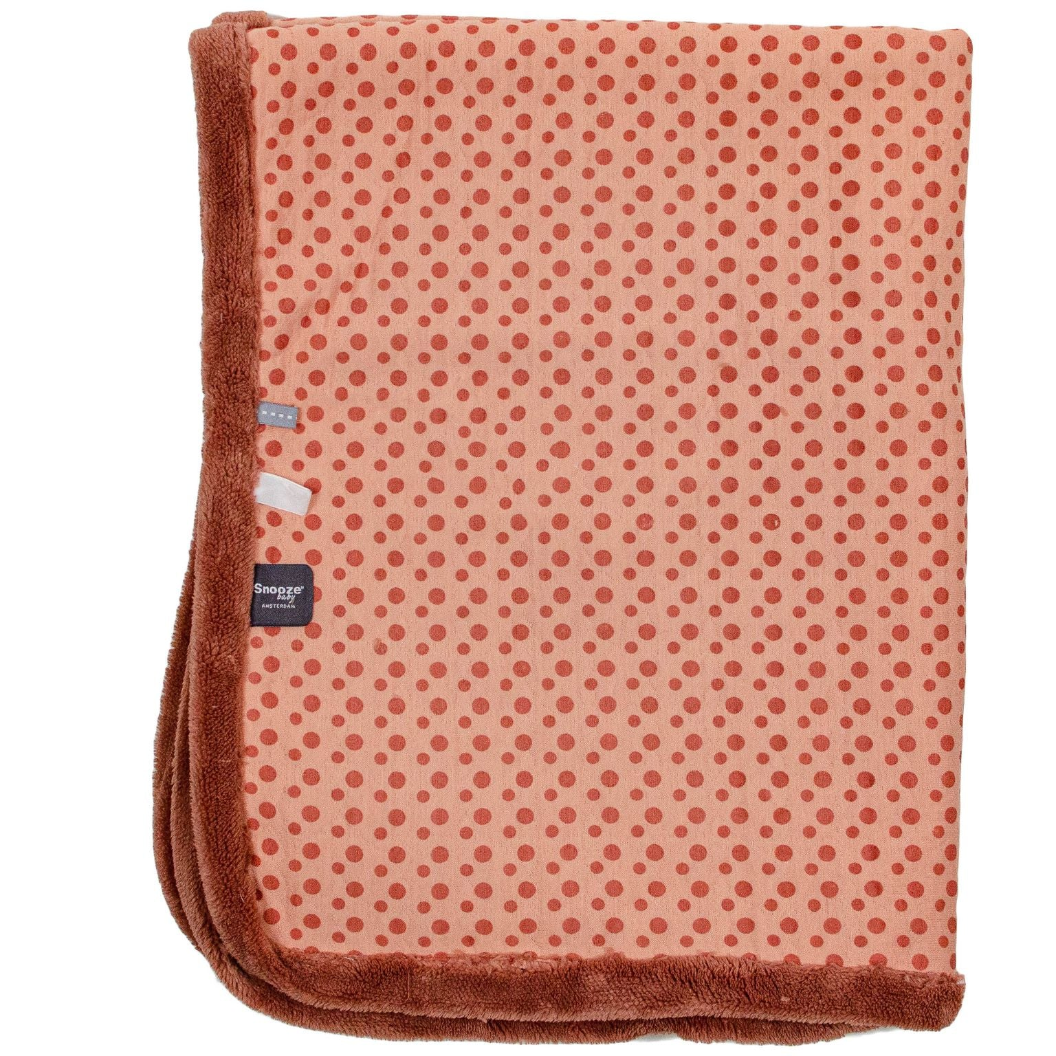Double Layer Cot Blanket | Dusty Rose