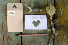 I'm LICHEN you! Lichen Love Card