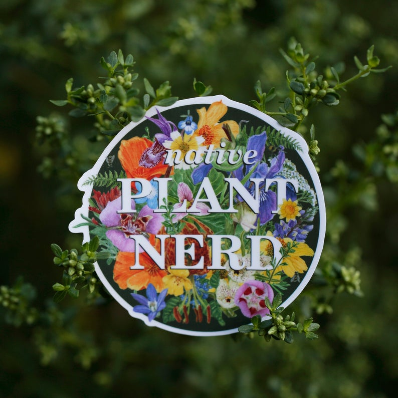 California Native Plants Sticker