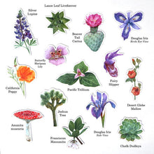 Magnets: Waterproof Native California Flora and Fauna Magnets