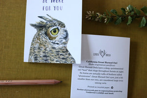 OWL be there for you! Greeting Card