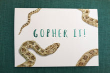 GO-pher It! Greeting Card
