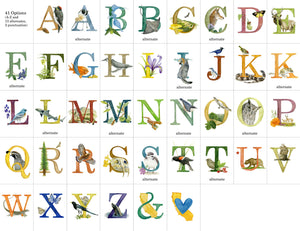 *Last Chance* - California Alphabet Letter Prints