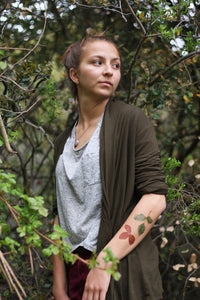 Poison Oak: Two Temporary Tattoos