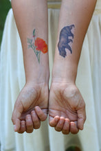 California Grizzly Bear: Two Temporary Tattoos