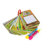 A-Z 26 alphabet water painting card book