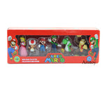 Super Mario Bros  Action Figure 6pcs