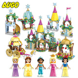 Building Block Toy Frozen Ice City Princess Castle