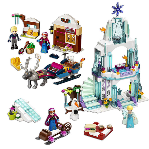 Legos Frozen Castle City Toys