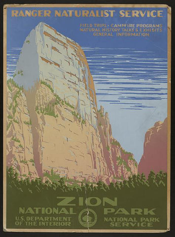 zion wpa poster
