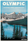 Olympic National Park Poster