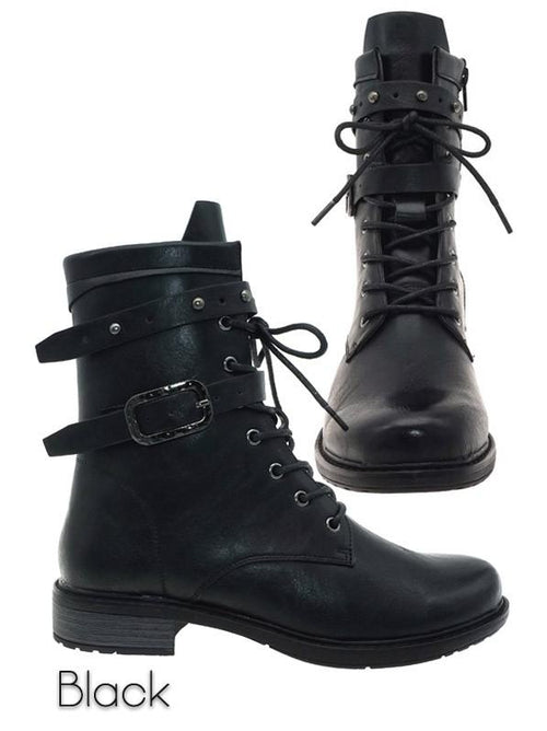 THE BARE-15 COMBAT BOOT - black
