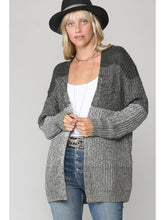 Load image into Gallery viewer, THE BECKY GRADIENT COZY CARDIGAN