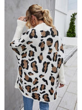 Load image into Gallery viewer, THE TAYLA LEOPARD CARDI SWEATER