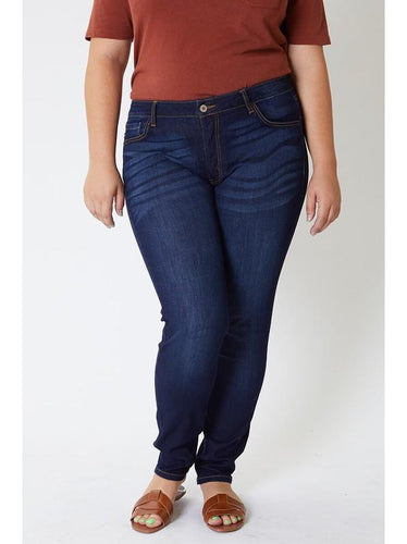 THE KIMBERLY BASIC NONDISTRESSED DENIM