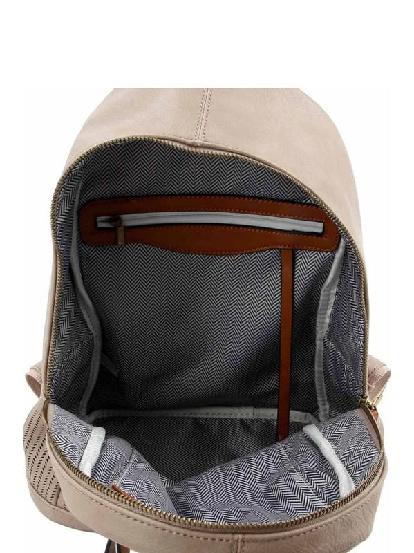 THE TWO TONE FASHION BACKPACK