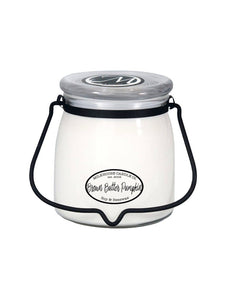 THE MILKHOUSE 16OZ BROWN & PUMPKIN BUTTER JAR CANDLE