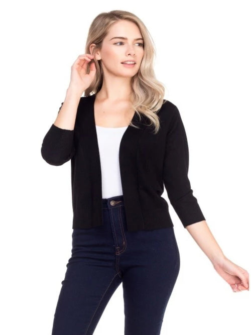 THE CARLIE OPEN CARDIGAN - 2 colors