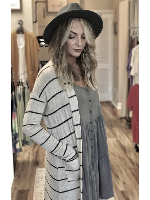 THE MO DUSTER CARDIGAN
