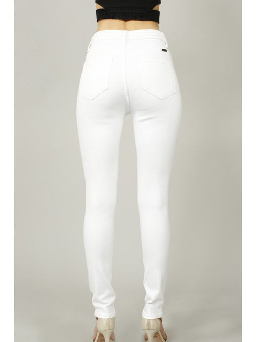 THE CAHLEY WHITE SKINNY FIT DENIM
