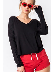THE FAYE DOLMAN TOP