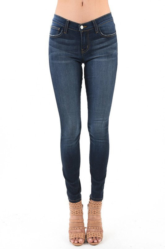 JUDY BLUE SKINNY RAYON STRETCH DENIM