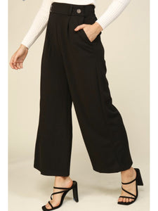 THE PENNY FRONT DOUBLE BUTTON CULOTTES