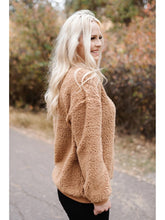 Load image into Gallery viewer, THE MICHELLE COZY SHERPA SWEATSHIRT