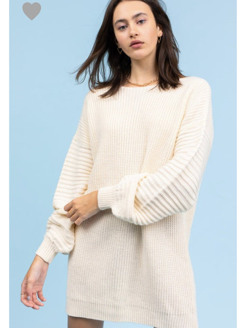 THE MAGGIE SWEATER DRESS