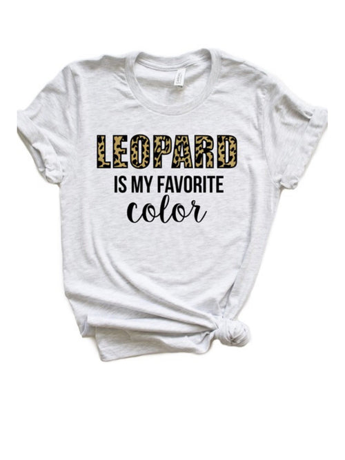 LEOPARD FAVORITE COLOR